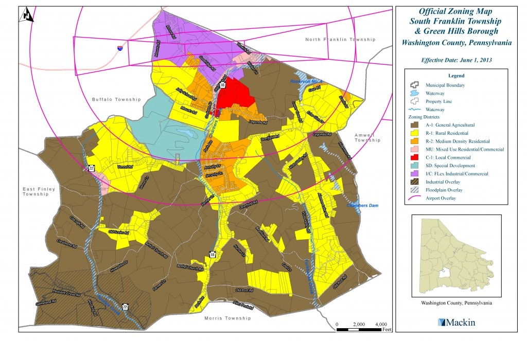 Maps and Zoning - South Franklin Township